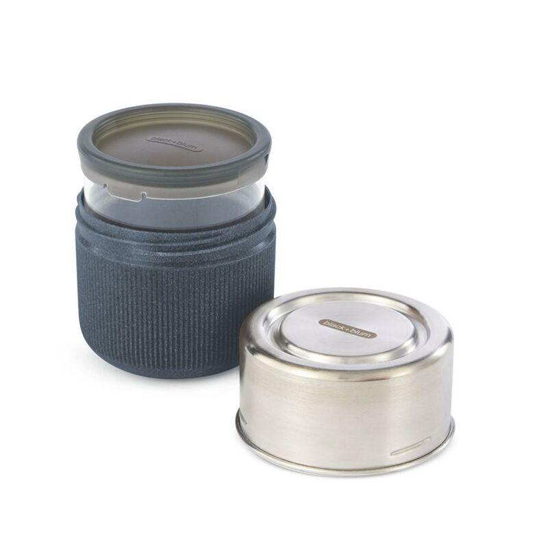BB Glass Lunch Pot ételhordó doboz palaszürke