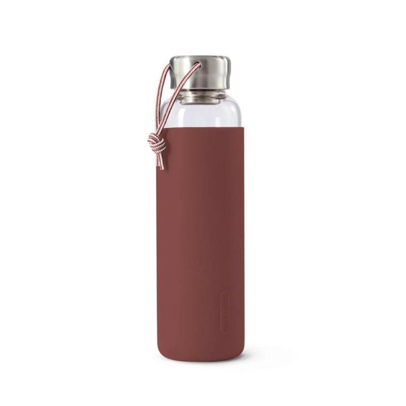 BB Glass Water Bottle vizes palack 0,60l burgundy